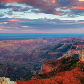 Тур по западному краю Гранд каньона