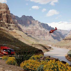 Вертолетная экскурсия над Гранд-Каньоном